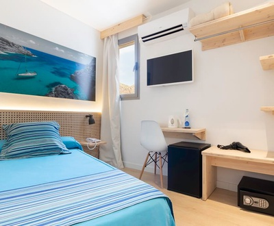 SMALL ECONOMIC INDIVIDUAL ROOM Eolo Hotel
