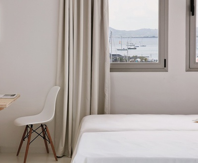 DOUBLE ROOM SEA VIEWS Eolo Hotel